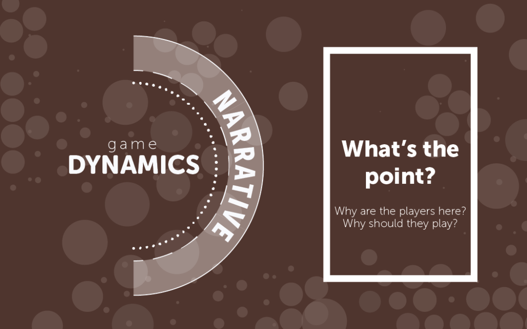#GameDynamics – Narrative