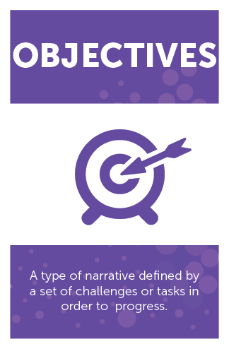 #GameMechanics – Objectives category