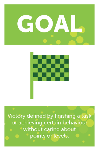 #GameMechanics – Goal Category