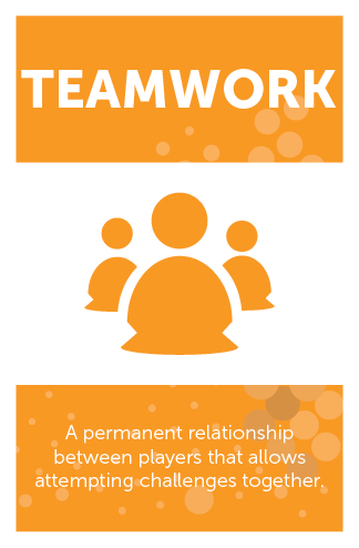 #Gamemechanics – Teamwork Relationships Category